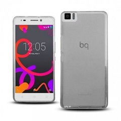 Funda BQ Aquaris M5 Gel Transparente