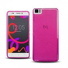 Funda BQ Aquaris M5 Gel Rosa