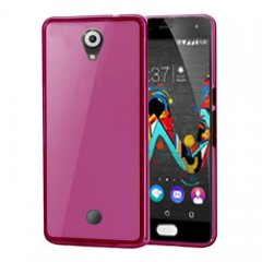 Funda Wiko U Feel Gel Rosa