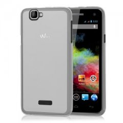 Funda Wiko Rainbow 4G Gel Transparente