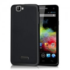 Funda Wiko Rainbow 4G Gel Negra