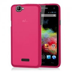 Funda Wiko Rainbow 4G Gel Rosa