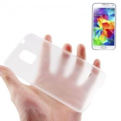 Funda Samsung Galaxy S5 Gel Extra Fina 0,3mm Anti Huella Transparente