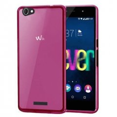 Funda Wiko Fever Gel Rosa