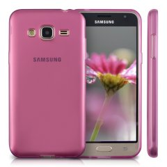 Funda Samsung Galaxy J3 2016 Gel Rosa