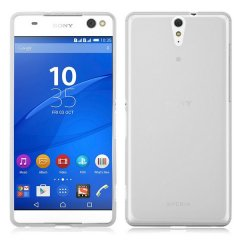 Funda Sony Xperia C5 Ultra Gel Transparente