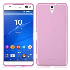 Funda Sony Xperia C5 Ultra Gel Rosa
