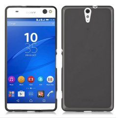 Funda Sony Xperia C5 Ultra Gel Negra