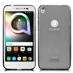 Funda Alcatel Shine Lite Gel Negra