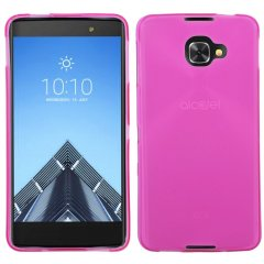 Funda Alcatel Idol 4S Gel Rosa