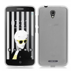 Funda Alcatel Pop 4 Gel Transparente