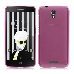 Funda Alcatel Pop 4 Gel Rosa