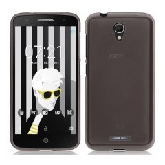 Funda Alcatel Pop 4 Gel Negra