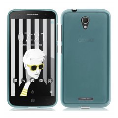 Funda Alcatel Pop 4 Gel Azul