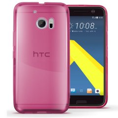 Funda HTC 10 Gel Rosa