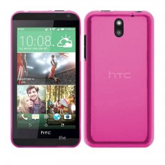Funda HTC 650 Gel Rosa