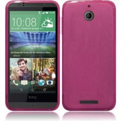 Funda HTC 510 Gel Rosa