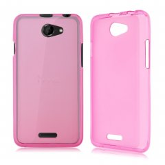 Funda HTC 516 Gel Rosa