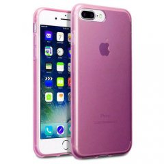 Funda Apple iPhone 7 Plus Gel Rosa