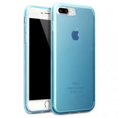 Funda Apple iPhone 7 Plus Gel Azul