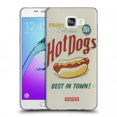 Funda Samsung Galaxy A5 2016 Gel Dibujo Hot Dogs