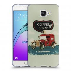 Funda Samsung Galaxy A5 2016 Gel Dibujo Coffe Shop