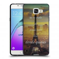 Funda Samsung Galaxy A5 2016 Gel Dibujo Paris