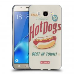Funda Samsung Galaxy J5 2016 Gel Dibujo Hot Dogs
