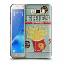 Funda Samsung Galaxy J5 2016 Gel Dibujo Fries