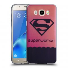 Funda Samsung Galaxy J5 2016 Gel Dibujo SuperWoman