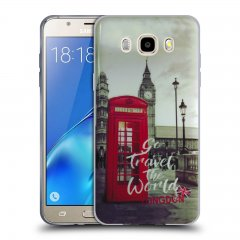Funda Samsung Galaxy J5 2016 Gel Dibujo Londres