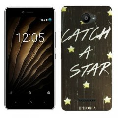 Funda BQ Aquaris U Lite Gel Dibujo Catch a star