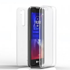 Funda LG K10 Gel Doble cara Transparente
