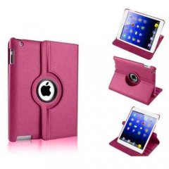 Funda Ipad Mini 360º Cuero Rosa