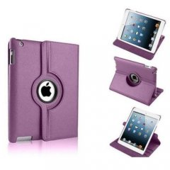 Funda Ipad Air 360º Cuero Violeta