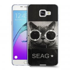 Funda Samsung Galaxy A5 2016 Gel Dibujo Swag Cat