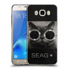 Funda Samsung Galaxy J5 2016 Gel Dibujo Swag Cat