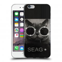 Funda Apple iPhone 7 Gel Dibujo Swag Cat
