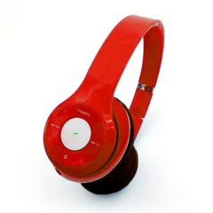 Auriculares Rojo M Pure con Cable