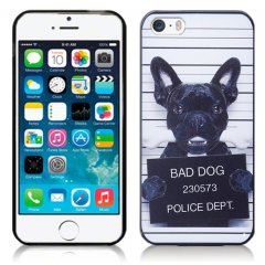 Funda iPhone 6 Plus Gel Dibujo Doggy
