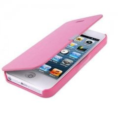 Funda iPhone 5 Cartera Slim Rosa