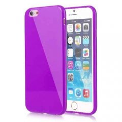 Funda iPhone 6 Gel Morada