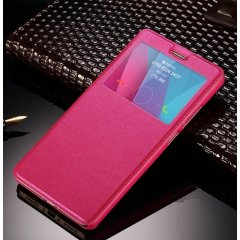 Funda Huawei P10 Plus Flip View Cover Rosa