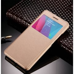 Funda Huawei P10 Plus Flip View Cover Dorada