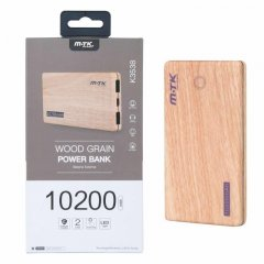 POWER BANK Madera 10200 mAh 8000 mAh