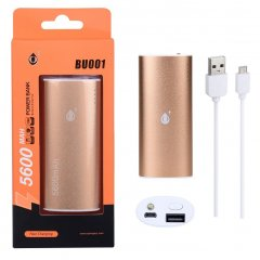 POWER BANK Metalbox 5600 mAh bateria externa Champàn