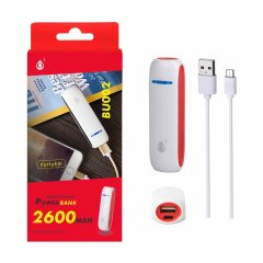 POWER BANK EsonP 2600 mAh bateria externa