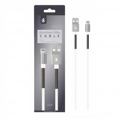 Cable de Datos iPhone Lightning 2A 1Metro Aluminio