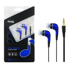 Auriculares MTK in Ear Azul