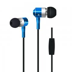 Auriculares Havit in Ear Azul con micro